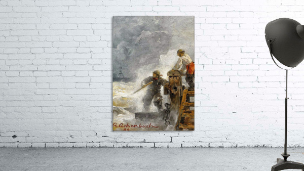 Stormy North Sea