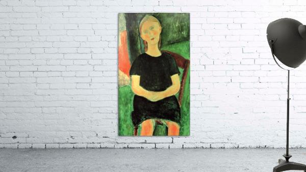 Modigliani - Sitting girl