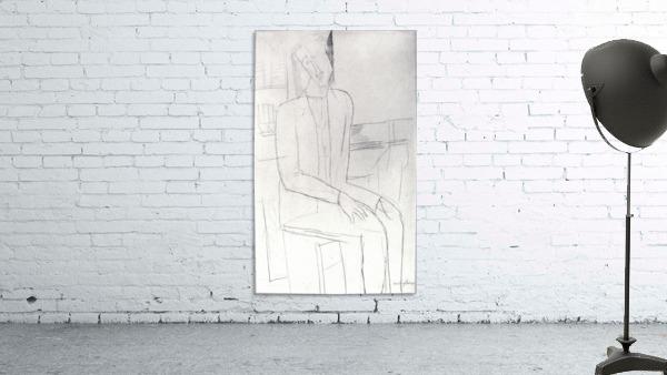 Modigliani - Sitting man