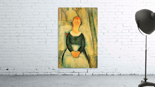 Modigliani - The beautiful merchant