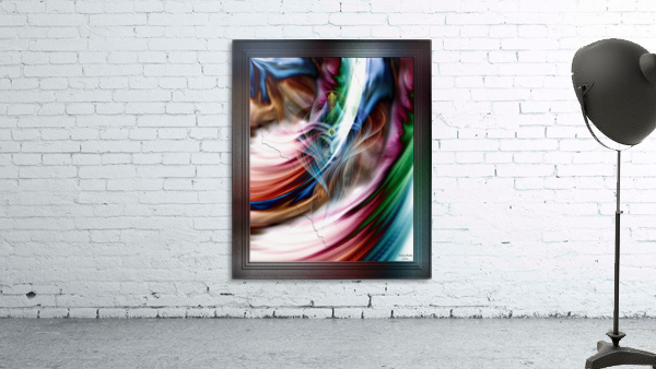 Whispers In A Dreams Of Beauty Fractal Abstract Portrait Art