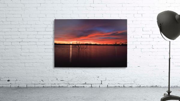 Wellington City Lake Sunset