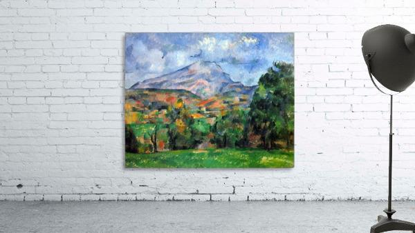 Mount St. Victoire by Cezanne