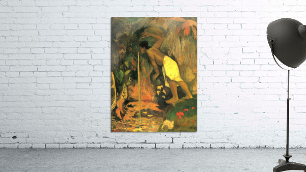 Mysterious Source by Gauguin