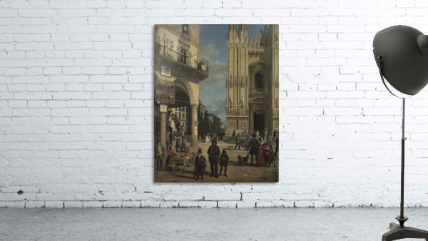 View of the Piazza del Duomo