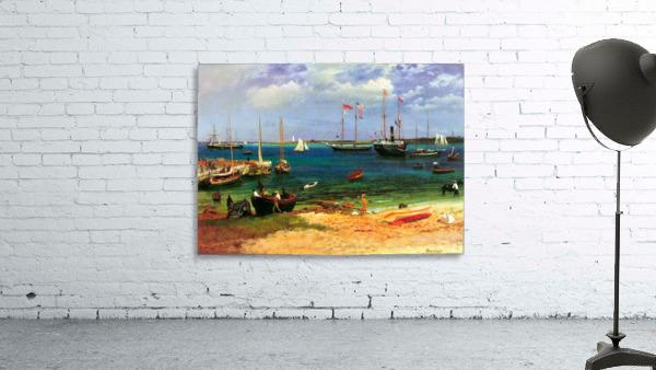 Nassau port by Bierstadt