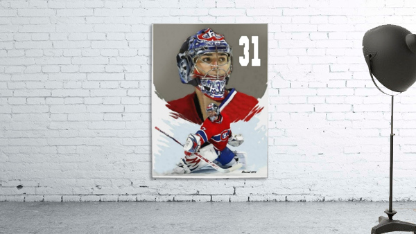 Carey Price portrait