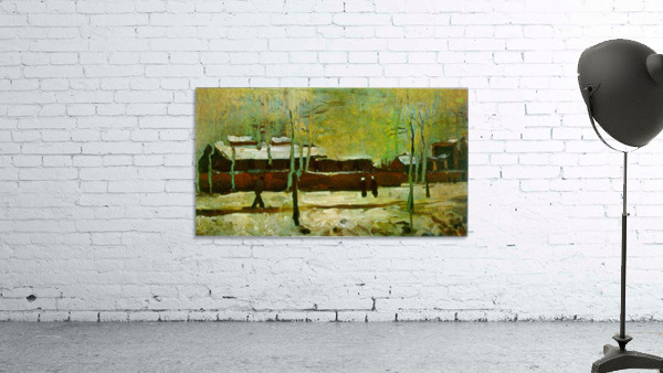Old Station by Van Gogh