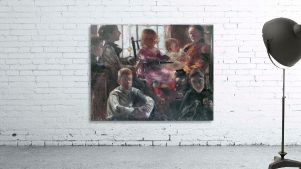 Hull family by Lovis Corinth