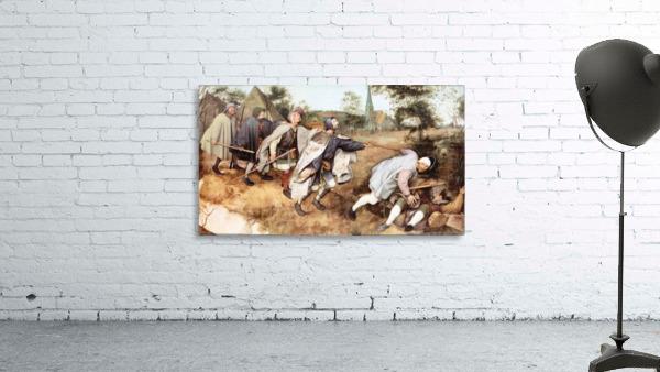 Parabal of the blind men by Pieter Bruegel