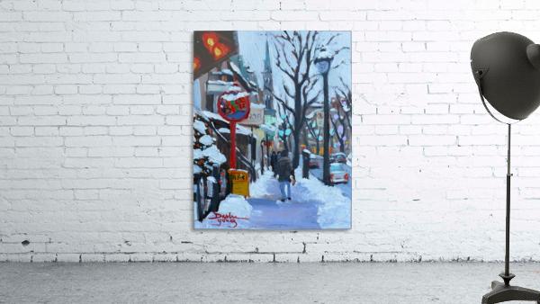 Montreal Winter St-Denis