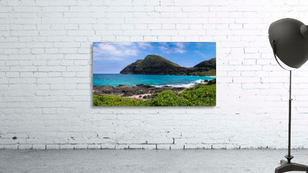 Hawaii Mountain Cliff on Coast