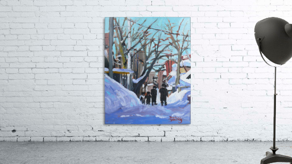 Montreal Winter Outremont
