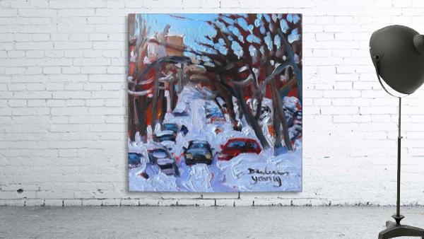 Montreal Est, Winter Scene
