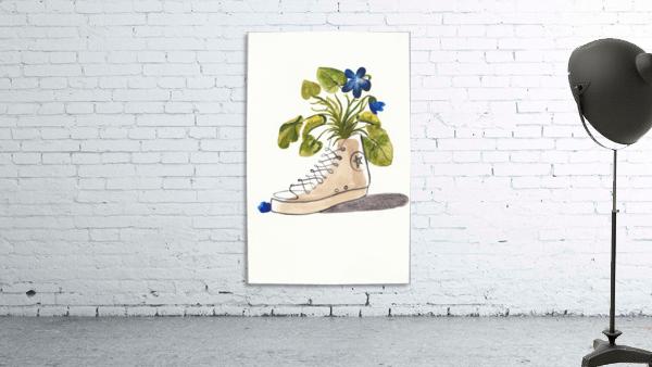 Chucks and Flowers