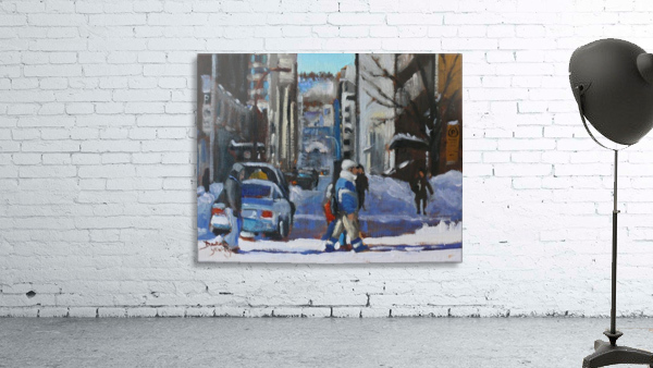 Montreal Winter Scene, Drummond