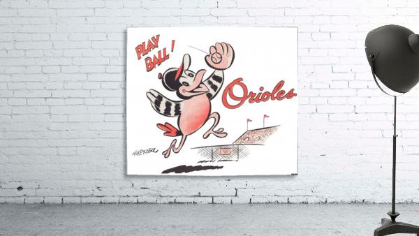1960 Baltimore Orioles Art