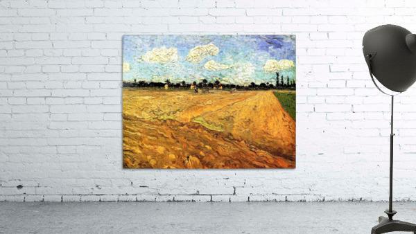Ploughed Field by Van Gogh