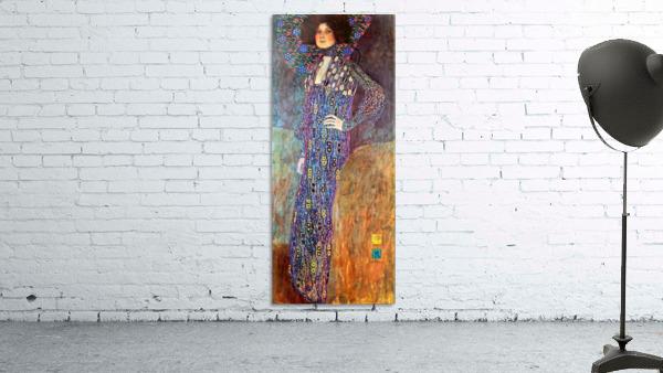 Portrait of Emily Floge by Klimt