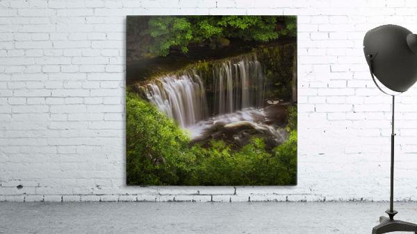 The Sgwd Isaf Clun-gwyn waterfall