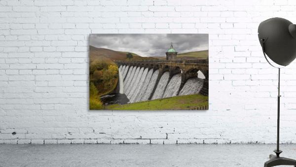 The dam at Craig Goch