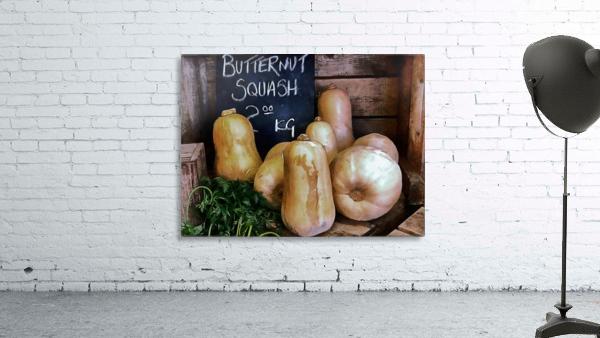 Butternut Squash Sale Display