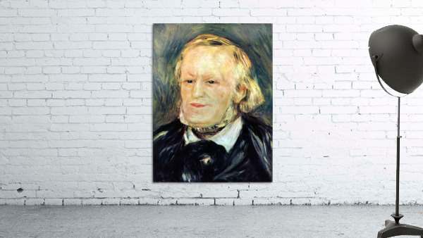 Portrait of Richard Wagner by Renoir