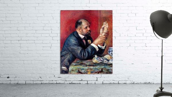 Portrait of Vollard by Renoir