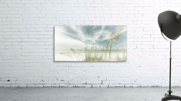 Heavenly calmness on the beach | Panoramic Vintage