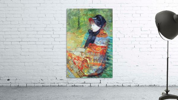 Profile of Lydia by Cassatt