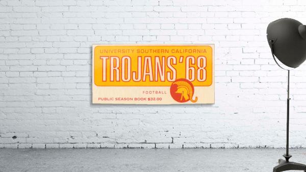 1968 USC Trojans Season Ticket