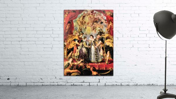 Replacing the Medici Princess by Rubens