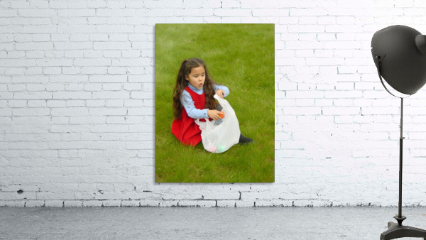Easter Egg Hunt Girl
