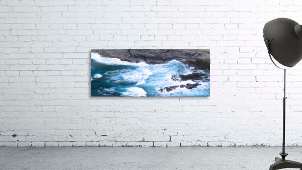 Swirling Blue Seas