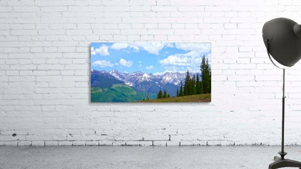 Rocky Mountain High Colorado Panorama