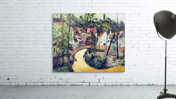 Road bend by Cezanne
