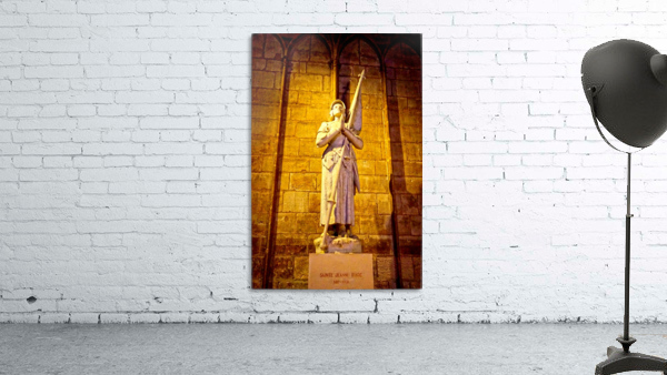 Jeanne d Arc and Saint Croix Cathedral at Orleans   France 4 of 7
