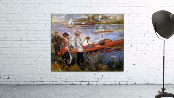 Rowers from Chatou by Renoir