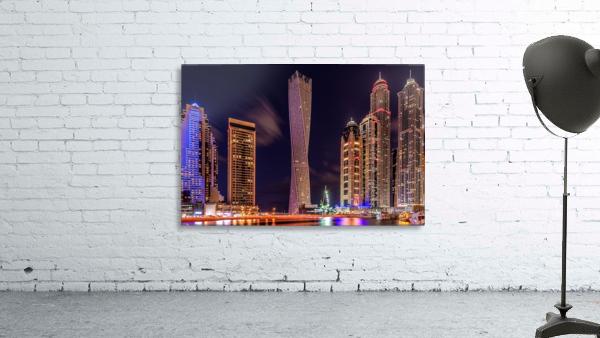Dubai Marina Night Shot