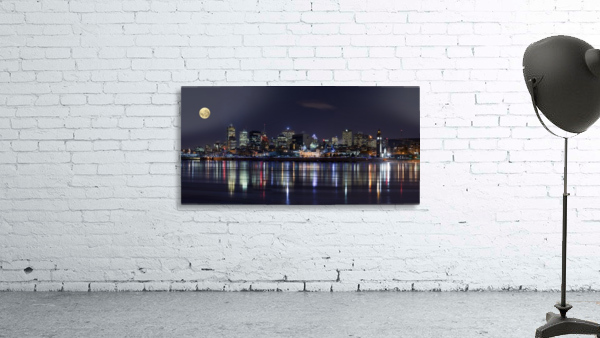 Montreal Night Print