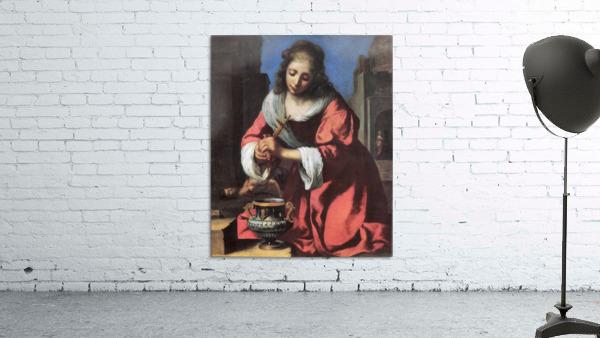 Saint Praxedis by Vermeer