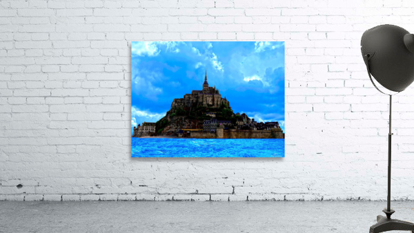 Mont St Michel Panorama