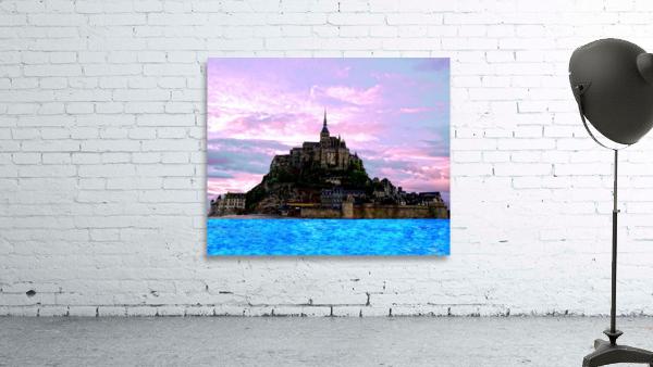 Mont St Michel at Sunset - France