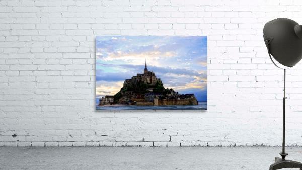 Mont St Michael Rising Tide - France