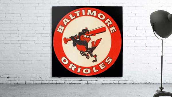 1960s Baltimore Orioles Art