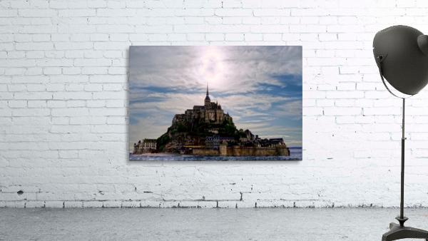 Mount Saint Michael The Fires of Heaven - Normandy France