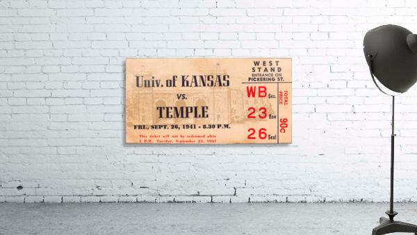 1941 Temple vs. Kansas