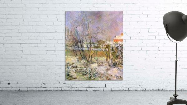 Snow in Rue Carcel by Gauguin