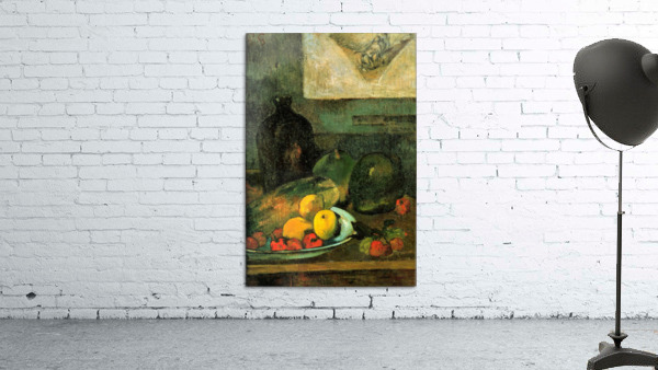 Still Life in Front of a Stich by Gauguin