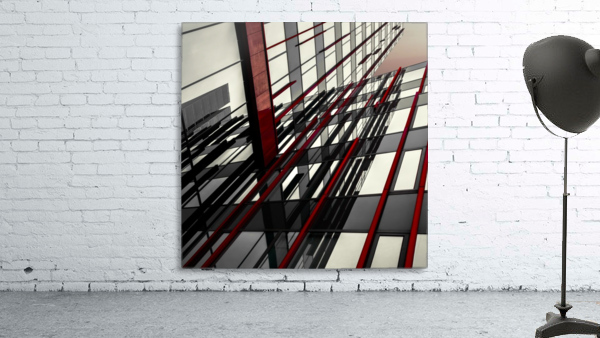 red lines by Gilbert Claes